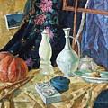 Still Life With White Goods by Vladimir Khodiakov