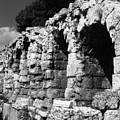 Stoa Of Eumenes Athens by Susan Chandler
