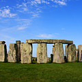 Stonehenge On A Clear Blue Day by Kamil Swiatek