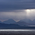 Storm Clouds On The Cuillins by John McKinlay