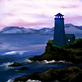 Stormy Blue Night by Susan Kinney