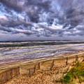 Stormy Dunes by E R Smith