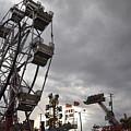Stormy Ferris Wheel by Daniel Ness