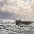 Stormy Seas by Henry Moore