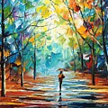 Stroll by Leonid Afremov