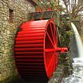 Sudbury Grist Mill Water Wheel by John Burk