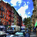 Sullivan Street In Greenwich Village by Randy Aveille