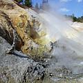 Sulphur Works - Lassen Volcanic National Park by Christine Till