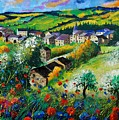 Summer In Rochehaut by Pol Ledent