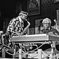 Sun Ra Arkestra At The Red Garter 1970 Nyc 3 by Lee Santa