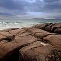 Sunbreak Over The Shoreline by Laura Lea Wergin-Comeau