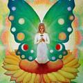 Sunflower Fairy by Sue Halstenberg