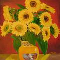 Sunflower by Lian Zhen
