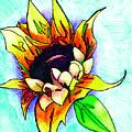 Sunflower by Loretta Nash
