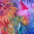 Sunflower Splash by Renee Chastant