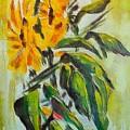 Sunflowers by Dragica  Micki Fortuna