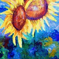 Sunflowers by Pamela  Squires