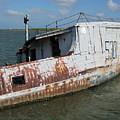 Sunken Shrimpboat by Wendell Baggett