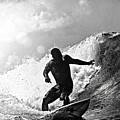 Sunny Garcia In Black And White by Paul Topp