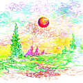 Sunny Orb by William Vanya