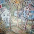Sunrise Blue House Ats by Joseph Sandora Jr