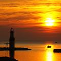 Sunrise Brushstrokes by Bill Pevlor