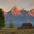 Sunrise In Jackson Hole by Steve Stuller