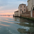 Sunrise On Isola Di San Clemente Venice by Harry Mason