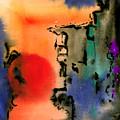 Sunset At Nikko by Ralf M Broughton