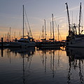 Sunset At St. Marys by Joel Deutsch