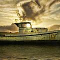Sunset Boat by Blake Richards