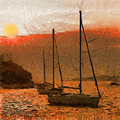Sunset Harbor by Anthony Caruso