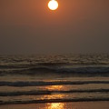 Sunset In Goa-2 by Reshmi Shankar