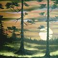 Sunset  by Jim Saltis