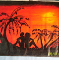Sunset Love by Derick  nana  mbrah