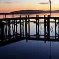 Sunset Magic Bodega Bay California by Bob Christopher