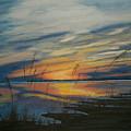 Sunset On St. Andrew by Nancy Nuce