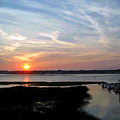 Sunset Over Murrells Inlet II by Suzanne Gaff