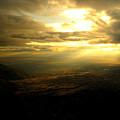 Sunset Over Sandia Mountain by Debbie Karnes