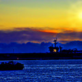 Sunset Over The Carl Vinson by Tommy Anderson