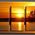 Sunset Poster by Michael Whitaker