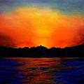 Sunset Sinai by Helmut Rottler