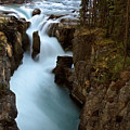 Sunwapta Falls In Jasper National Park by Mark Duffy