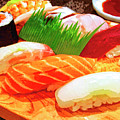 Sushi Plate 1 by Dominic Piperata