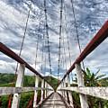 Suspended Bridge by MotHaiBaPhoto Prints