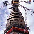 Swayambhunath by Patrick Klauss