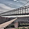 Swayback Suspension Bridge by Farol Tomson