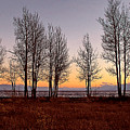 Tahoe Sunset Looking Southwest by Larry Darnell