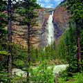 Takakkaw Falls by Crystal Garner
