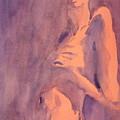 Tangerine Nude by Ken Daugherty